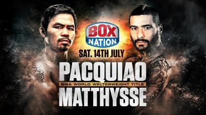 Pacquiao v Matthysse - The Promo