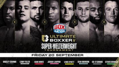 Ultimate Boxxer V - The Super-Welterweights