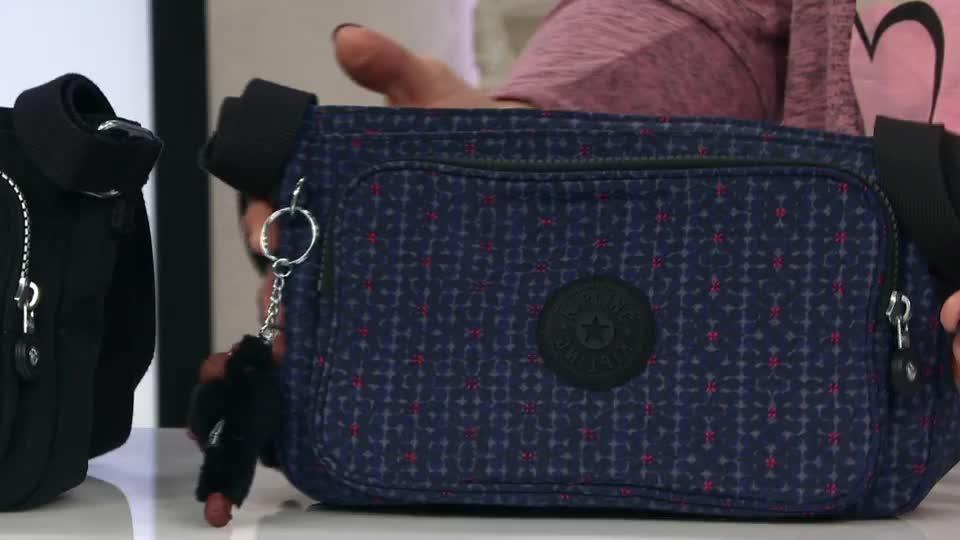 Kipling Splendor Medium Crossbody Bag With Adjustable Strap Qvc Uk