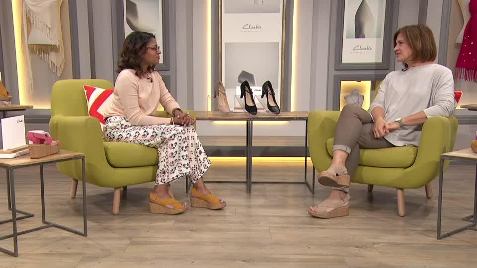 facb8a39a85 Clarks Dalia Lily Court Shoe Standard Fit. Back to video. On-Air  Presentation