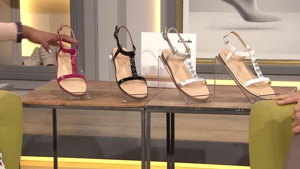 434c573daa38 Clarks Bay Blossom Strappy Sandal Standard Fit. Back to video. On-Air  Presentation