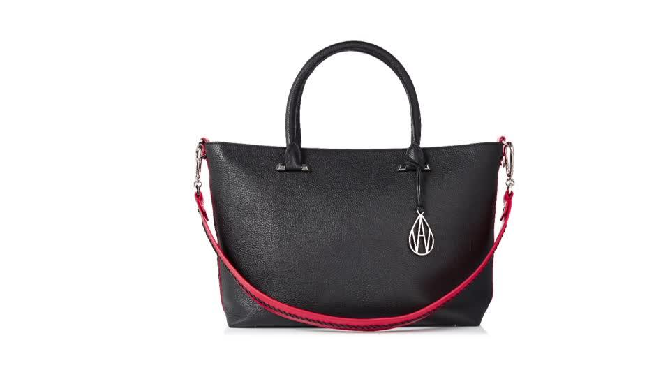 3d2567100b Amanda Wakeley The Campbell Leather Tote Bag. Back to video. On-Air  Presentation