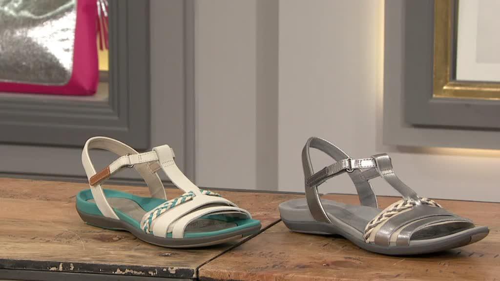 c3d9a7cd37c Clarks Tealite Grace Slingback Sandal Standard Fit. Back to video. On-Air  Presentation