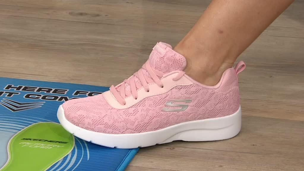 5e229845a3ea Skechers Lace Effect Lace Up Trainer. Back to video. On-Air Presentation