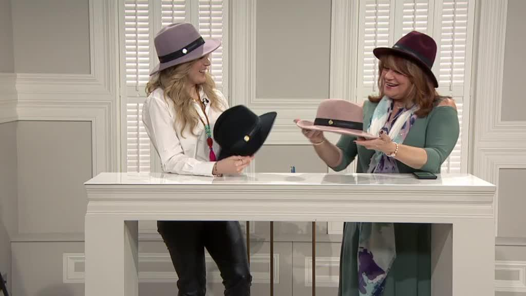 Vince Camuto Banded Panama Hat. Back to video. On-Air Presentation 12fbeb09032e
