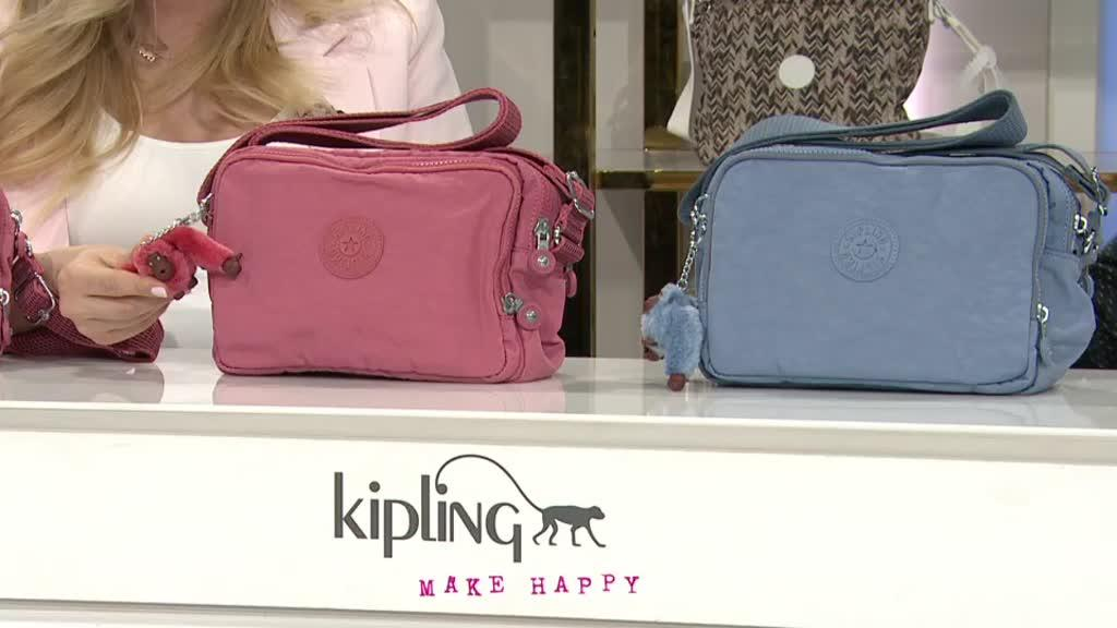 Kipling Silen Crossbody Bag - QVC UK 4612f6fcee