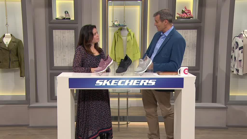 Skechers Flex Appeal 3.0 Slip On Trainer QVC UK