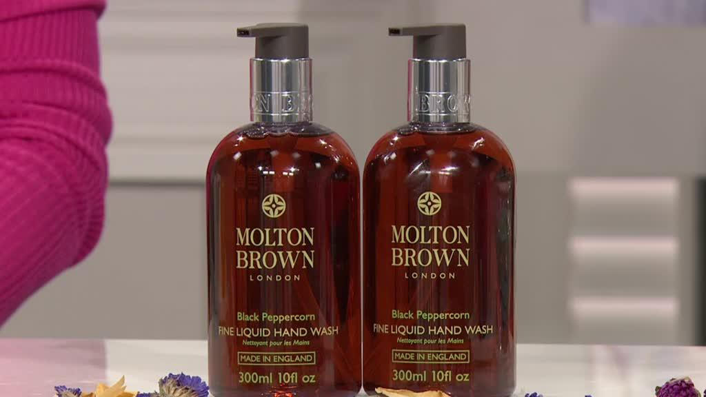 a16dbbb65670 Molton Brown Pepper 300ml Hand Wash Duo. Back to video. On-Air Presentation