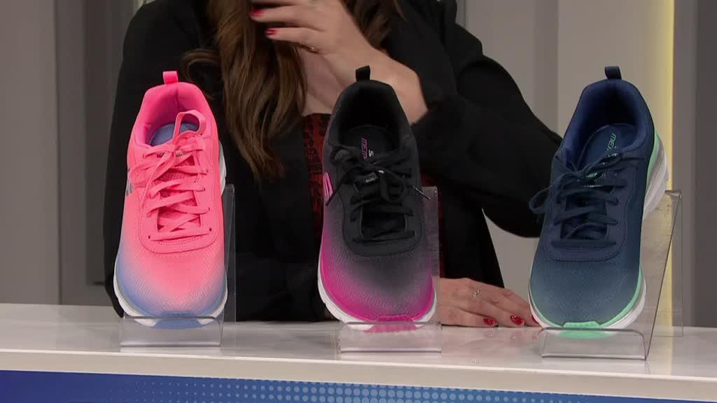 8ac67f3b89f0 Skechers Sports Ombre Fashion Chunky Lace Up Trainer. Back to video. On-Air  Presentation
