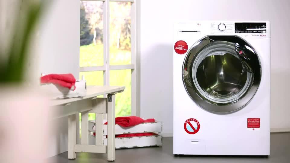 Hoover waschmaschine 8kg dampftechnik eek a 40% 5j