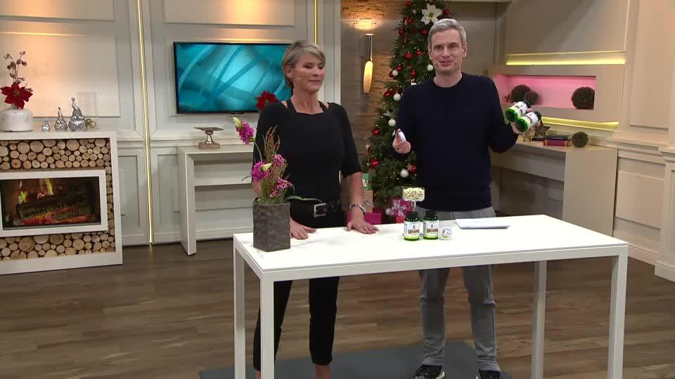 NUTRALINEA Lupinen-Eiweiß mit B12 & Aloe Vera inkl. Pillendose 2x ...