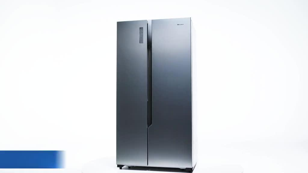 Side By Side Kühlschrank Hisense : Hisense side by side rs670n4bc2 eek a 566l total no frost page