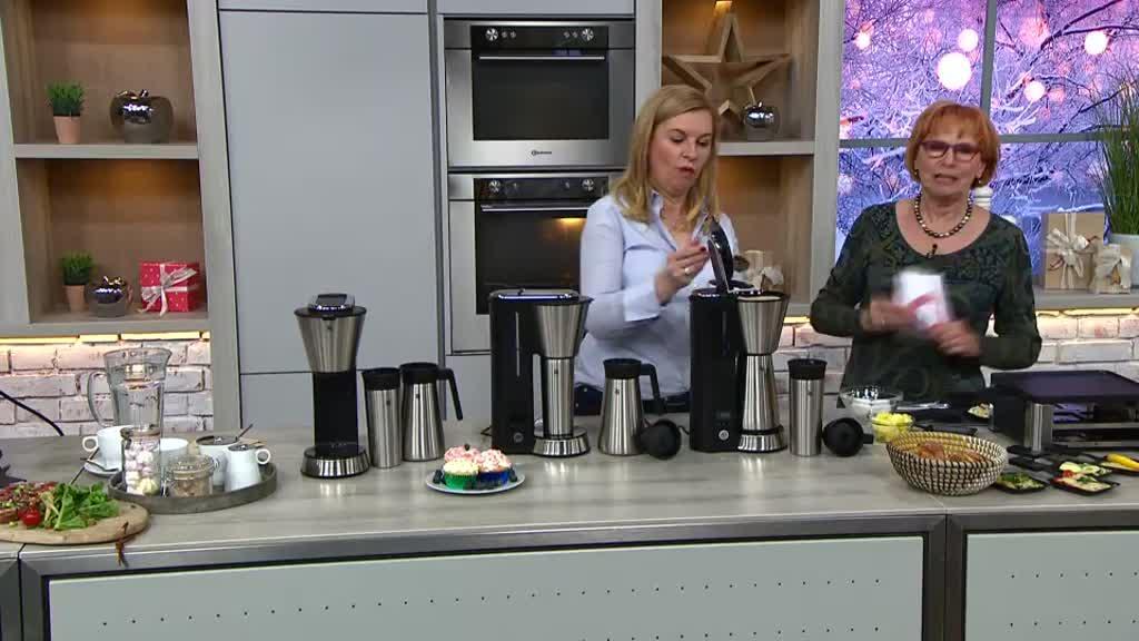 Qvc Wmf Elektrogrill : Qvc wmf kaffeemaschine quigg kaffeemaschine aroma plus
