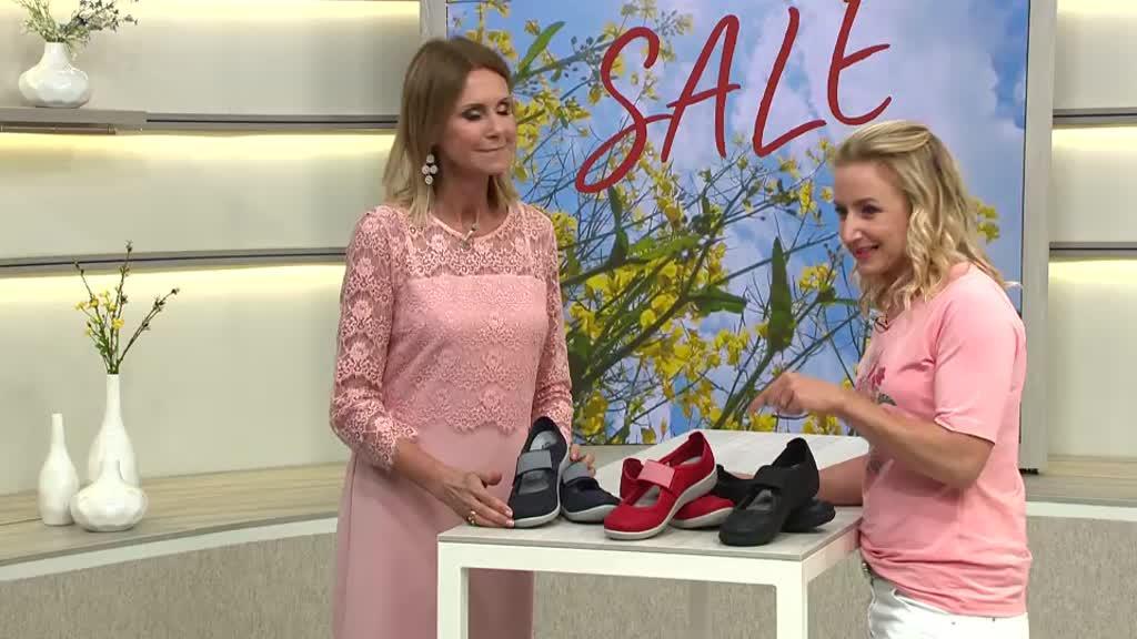 best quality hot sales shop best sellers CLARKS® Mary-Jane Ballerina Sillian Cala H-Weite — QVC.de