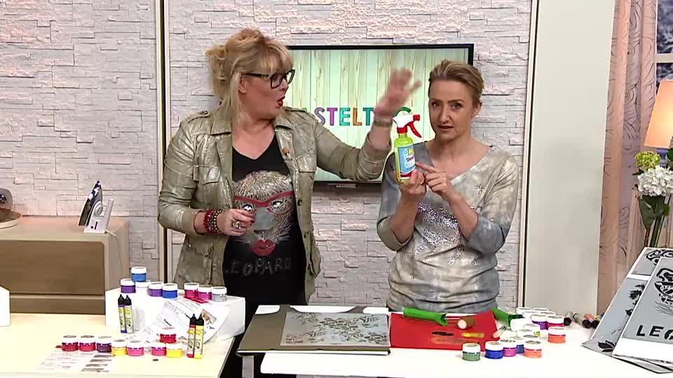 Heike Schafer Textil Design Textilfarben Versch Effekte 10 Tlg Qvc De